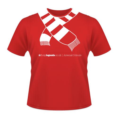 football t shirts arsenal